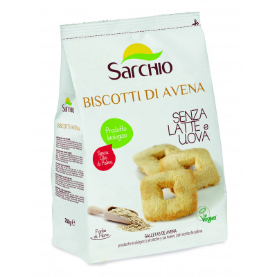 Вівсяне печиво Sarchio 250 г