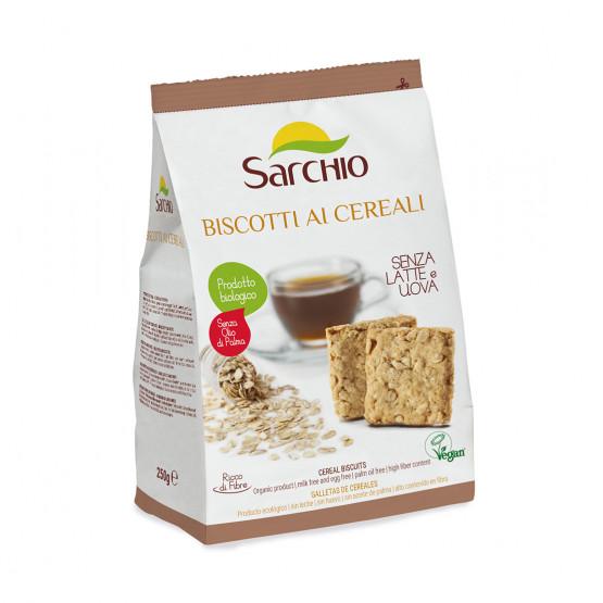 Зерновое печенье Sarchio 250 г