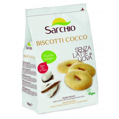 Кокосове печиво Sarchio 250 г