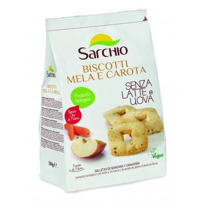 Печиво яблучно-моркв'яне Sarchio 250 г