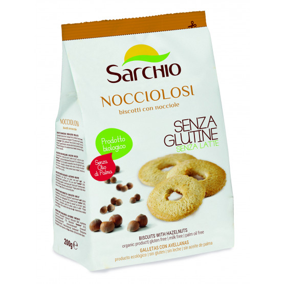 Печенье с фундуком Sarchio 200 г
