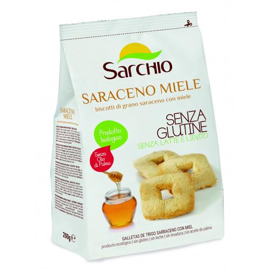 Гречане печиво з медом Sarchio 200 г