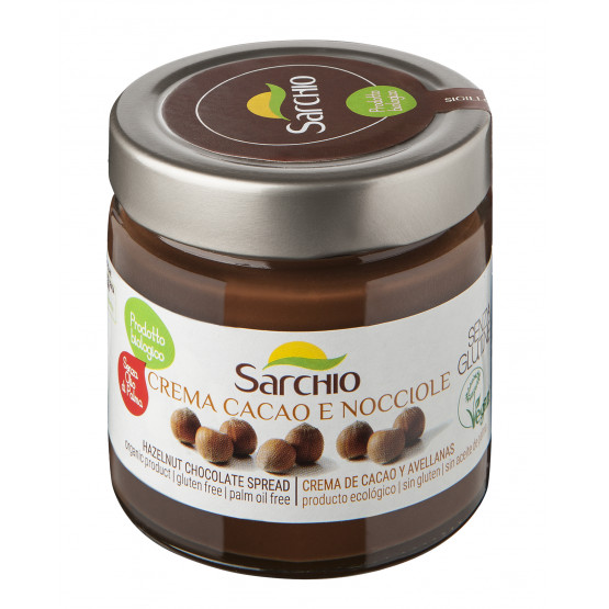 Паста шоколадна з фундуком Sarchio 200 г