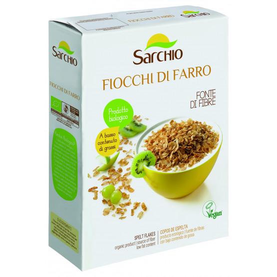Хлопья из спельты Sarchio 250 г
