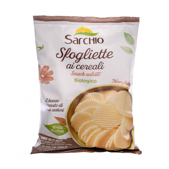 Зернові чіпси Sarchio 55 г