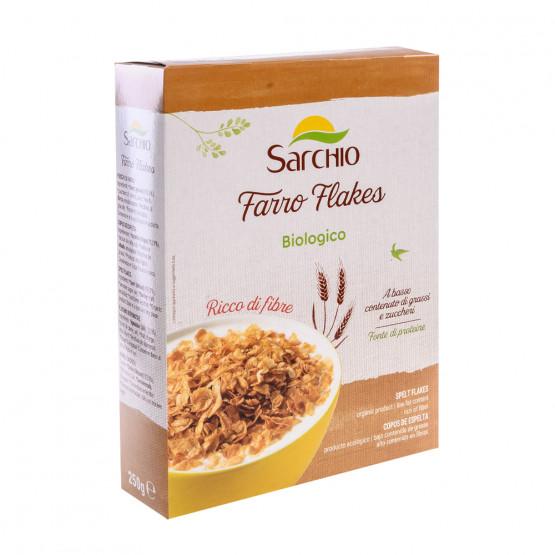 Пластівці зі спельти Sarchio 250 г