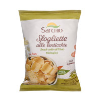 Чіпси з сочевиці Sarchio 50 г