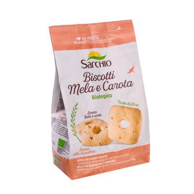 Печиво яблучно-морквяне Sarchio 250 г