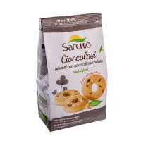 Рисове печиво з шоколадною крихтою Sarchio 200 г