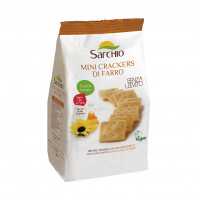 Міні-крекери зі спельти Sarchio 250 г
