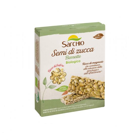 Снек з гарбузового насіння Sarchio 80 г (4х20г)