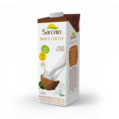 Напій з кокосу та рису Sarchio 1000 мл