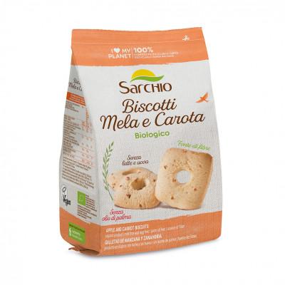 Печенье яблочно-морковное Sarchio 250 г
