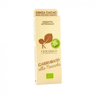 Шоколад Модіканський з керобу з фундуком Ciokarrua 50 г