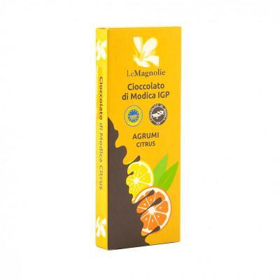 Шоколад Модіканський зі смаком цитрусових Le Magnolie 100 г