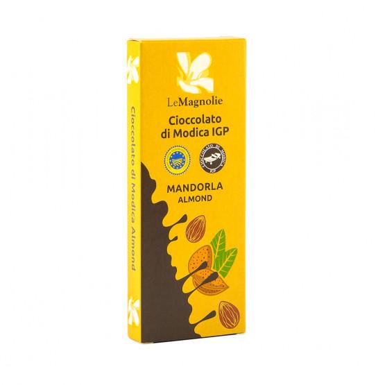 Шоколад Модиканский с миндалем Le Magnolie 100 г