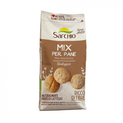 Борошняна суміш для білого хліба і піци Sarchio 500 г