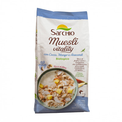 Мюслі Vitality Sarchio 300 г