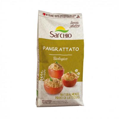 Кукурузные панировочные сухари Sarchio 250 г