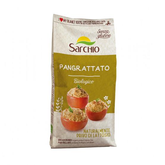 Кукурудзяні панірувальні сухарі Sarchio 250 г