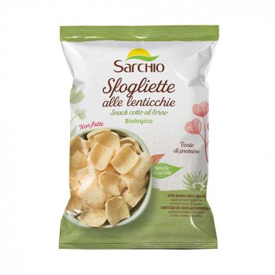 Чипсы из чечевицы Sarchio 50 г