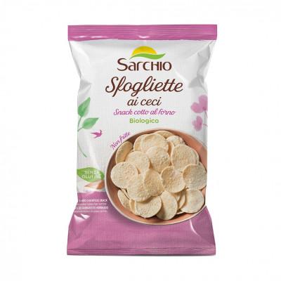 Чіпси з нуту Sarchio 50 г