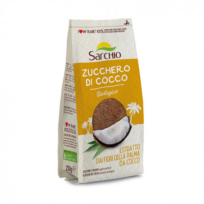 Цукор кокосовий Sarchio 250 г