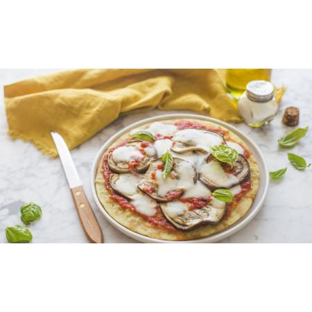 Обсмажена піца без глютену