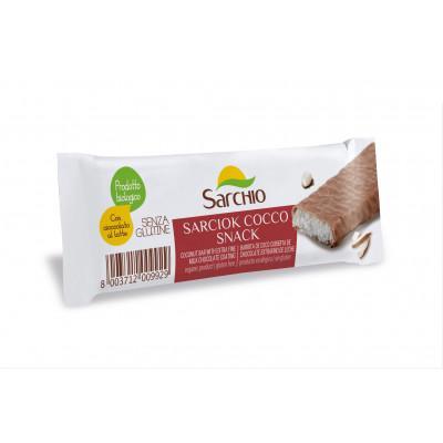 Кокосовий снек вкритий шоколадом Sarchio 30 г